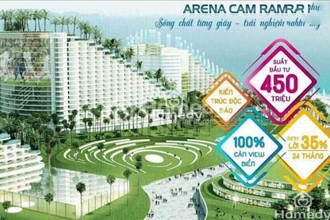 Condotel The Arena, xu hướng nghỉ dưỡng giải trí, sinh lời hàng tháng, tiện nghi 5 sao