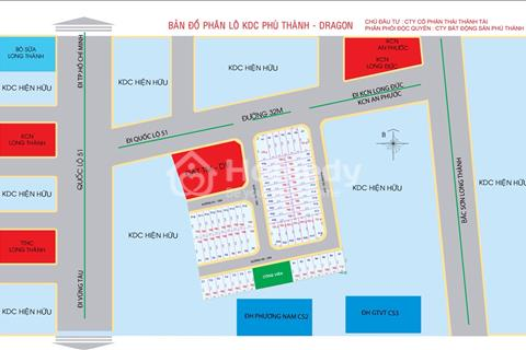 Mở bán dự án sân bay Long Thành giá chủ đầu tư từ 630 triệu/nền 100m2