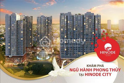 Chỉ 2,7 tỷ căn góc 2 phòng ngủ, đẹp nhất dự án Hinode City 201 Minh Khai