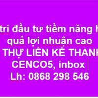 Liền kề biệt thự Thanh Hà Cienco 5 giá đầu tư