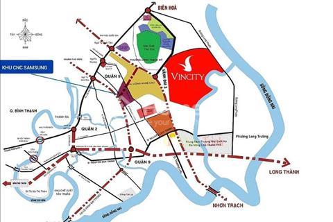 Chính thức nhận giữ chỗ dự án VinCity Quận 9, chỉ 20 triệu/căn