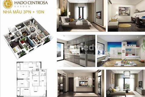 Chính chủ bán căn Hado Centrosa Garden 2 phòng ngủ, 79m2 giá chỉ 3 tỷ 700 triệu, rẻ nhất thị trường