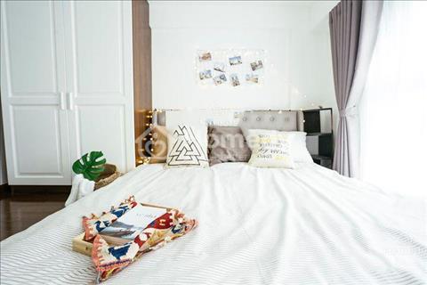 Cho thuê căn hộ dịch vụ mới 100%, đầy đủ nội thất, gym, hồ bơi, sauna, nhà hàng