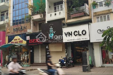 Cho thuê nguyên căn mặt tiền Nguyễn Đình Chiểu, Phường 5, Quận 3