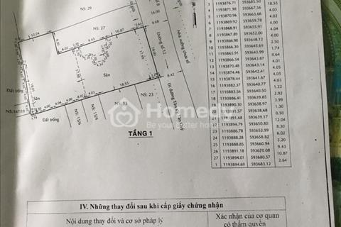 Bán đất 906m2 đất ở đô thị, đường số 12, Bình Hưng Hòa, Bình Tân, 18x45m giá 35 tỉ