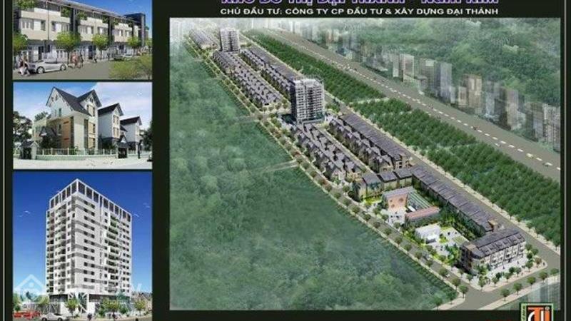 Dự án Khu đô thị Đại Thành - Nghi Kim Nghệ An - ảnh giới thiệu
