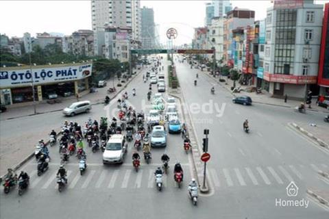 Cho thuê 1500m2 đất mặt phố Lê Văn Lương, Hà Nội