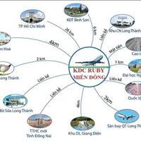 Đất nền dự án Ruby Miền Đông gần sân bay Long Thành