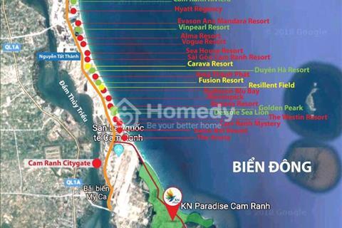 Đất nền - nhà phố KN Paradise Cam Ranh - chính thức nhận đặt chỗ lô giá gốc từ CĐT chỉ từ 17 tr/m2