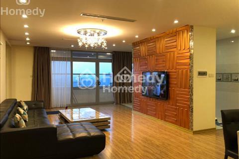 Cho thuê chung cư Diamond Flower Tower, 166m2, 3 phòng ngủ, nội thất đẹp