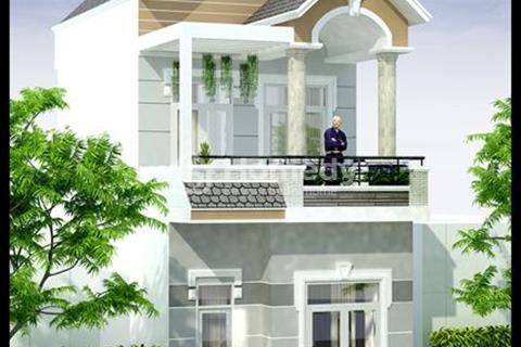 Nhà phố liền kề chợ Bình Chánh, sổ hồng riêng, full nội thất, giá sở hữu 950 triệu
