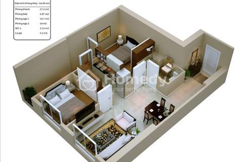 Sở hữu ngay căn hộ 65m2 đầy đủ tiện nghi cao cấp của chính mình chỉ với 120 triệu ban đầu