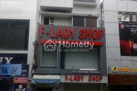 Cho thuê nhà 219 Hai Bà  Trưng, phường Bến Nghé, Quận 1, Hồ Chí Minh