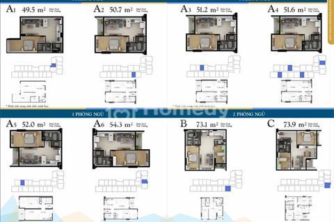 Căn hộ tầng 27, trực diện biển Mỹ Khê, nội thất cao cấp, giá chỉ 3.8 tỷ