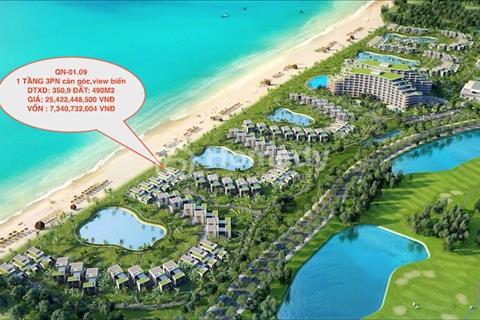 Bán căn đẹp nhất Vinpearl Nam Hội An, 3PN mặt tiền View biển, chỉ 7 tỷ, cam kết lời từ 2,5 tỷ/ năm
