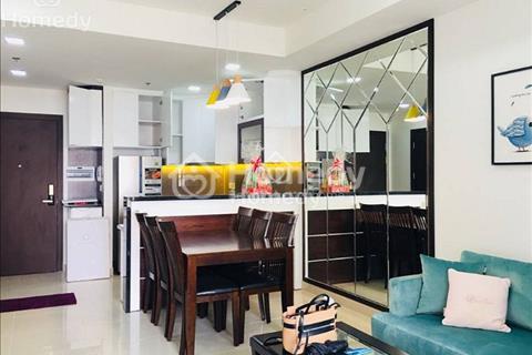 Cho thuê căn hộ The Tresor, 2 phòng ngủ, 1WC, full nội thất, view hồ bơi, 1100USD/tháng (bao phí)
