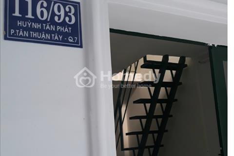 Cần bán nhà mới 35m2, 1 lầu hẻm thông 116/93 Huỳnh Tấn Phát, Quận 7