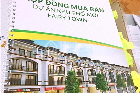Bán gấp liền kề 103m2 dự án Fairy Town, Vĩnh Yên, giá chỉ 1,6 tỷ, sổ đỏ đầy đủ, chiết khấu 7%