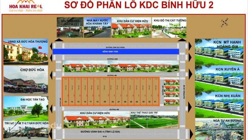 Dự án Khu dân cư Bình Hữu 2 Long An - ảnh giới thiệu
