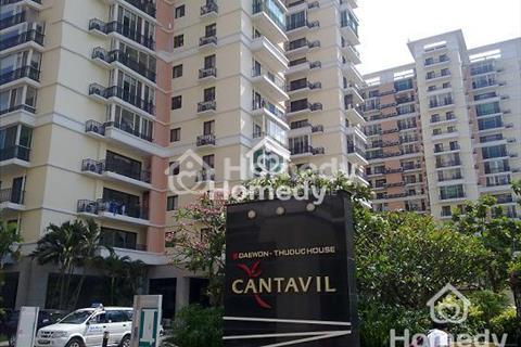 Cần cho thuê căn hộ Cantavil An Phú, 2 - 3 phòng ngủ, lầu cao, vị trí đẹp