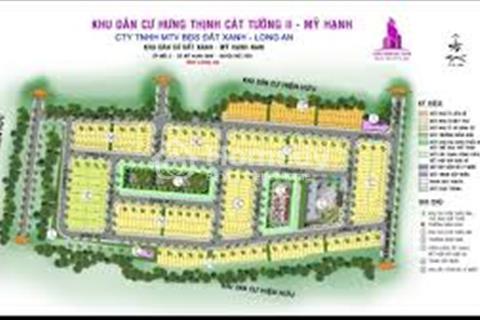 Chính thức mở bán block mới khu dân cư Đất Xanh, Long An, giá chỉ 300 triệu/ nền, 5x18m