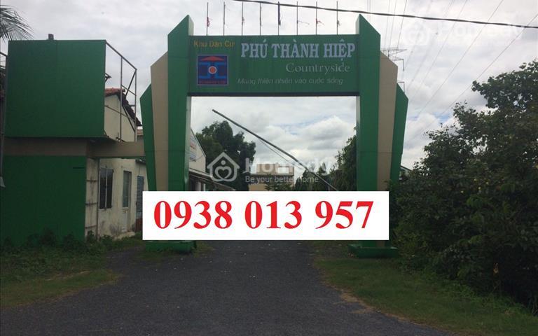 Cần bán lô đất thổ cư KDC Phú Hiệp Thành - đất nền Bến Lức , Long An nằm trên Ql 1A, SHR