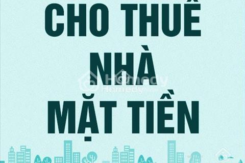 Cho thuê nhà mặt phố Nguyễn Văn Cừ, 67m2, mặt tiền 4,3m