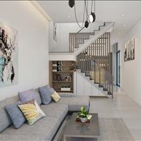 Bán nhà mới xây, mặt tiền đường 29m, thiết kế 1 trệt 1 lầu, diện tích 84m2, giao nhà hoàn thiện