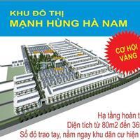Khu đô thị Mạnh Hùng, Lý Nhân, Hà Nam giá gốc chủ đầu tư chỉ từ 3,6 triệu/m2
