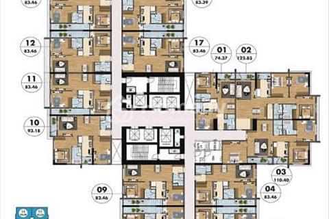 Goldmark City 136 Hồ Tùng Mậu, giá từ 29 triệu/m2 - sống xanh ngay trong lòng Hà Nội