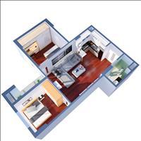 Chung cư Mipec Kiến Hưng giá chỉ từ 860 triệu căn 2 phòng ngủ