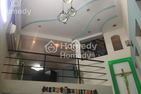 Nhà nghệ sỹ đường Thích Quảng Đức, hẻm xe hơi, 43m2, 1 lửng, 2 lầu, sân thượng