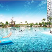 Bán căn hộ 1 phòng ngủ Tháp Hawaii, diện tích 52m2, view trọn khu công viên và hồ bơi resort 5 sao