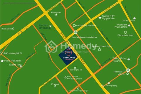 Vinhomes West Point - Tiêu điểm huyết mạch phía Tây chỉ 48 triệu/m2