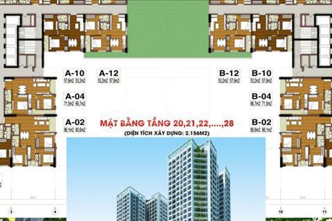 Thật dễ dàng để sở hữu căn hộ chung cư cao cấp Tecco Tower Thanh Trì chỉ với 350 triệu