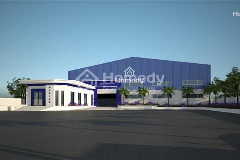 Cho thuê 3000m2 kho bãi tại cụm công nghiệp Lai Xá, Hoài Đức