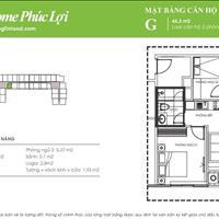 Chính chủ cần bán nhanh căn hộ 45,5m2 chung cư Ecohome Phúc Lợi - Long Biên, giá bán 1 tỷ