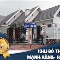 Khu đô thị Mạnh Hùng - Hà Nam - chỉ từ 3 triệu/m2