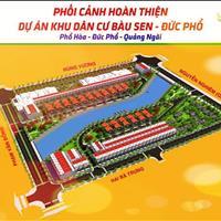 Cần bán gấp 2 lô đất nền tại dự án khu dân cư Bàu Sen - trung tâm huyện Đức Phổ