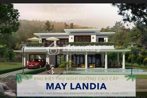 Đất nền giá rẻ đầu tư sinh lợi lớn lâu dài đất nền nghỉ dưỡng May Landia Mũi Né Phan Thiết