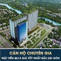 Căn hộ gần ngã 4 Bình Phước, thiết kế chuẩn Singapore với 100% view sông