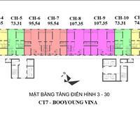 Bán căn 88m2 chung cư Booyoung Vina trả góp 0% trong 3 năm