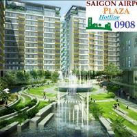 Chỉ 43 triệu/m2 sở hữu ngay căn hộ 2 phòng ngủ, 95m2, Sài Gòn Airport Plaza