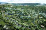 Khu du lịch sinh thái và nghỉ dưỡng Ivory Spa & Resort được xây dựng với kiến trúc và phong cách thuần Việt. Chất liệu được lựa chọn chính là các loại tre, gỗ và kính. Hơn nữa, đồ đạc được sử dụng bên trong khu vực du lịch sinh thái cũng được làm từ mây, tre, đan vốn là những sản phẩm thuần Việt.