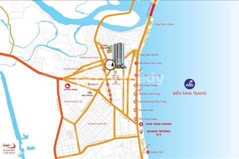Căn hộ chung cư cao cấp view biển Trần Phú - 70m2 - 2PN tận hưởng nhiều tiện ích đáng sống nhất