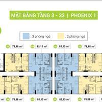 Chuyển nhượng căn hộ Topaz Elite - Phoenix 1 quận 8, căn diện tích 59.62m2, giá gốc 1,5 tỷ 2PN 2WC