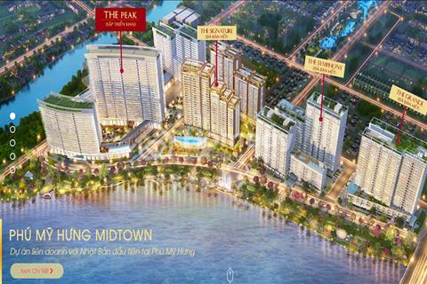 Bán gấp căn hộ Midtown giá gốc 5,5 tỷ, diện tích 79m2