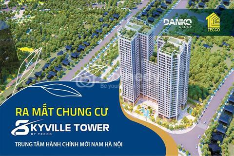Dự án hot nhất khu vực Thanh Trì Tecco Skyville Tower, chỉ với 350 triệu