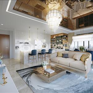 Căn hộ Diamond Island 3 phòng ngủ 117m2 phong cách tân cổ điển