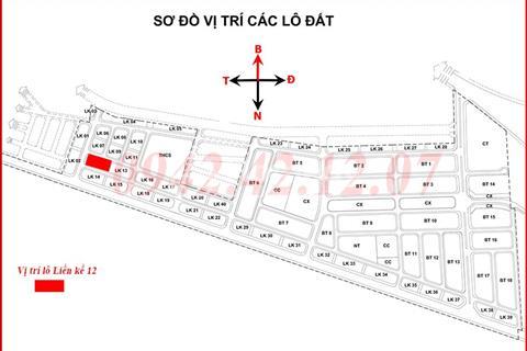 Bán liền kề 16 và 17 tại khu đô thị Phú Lương, hướng tây nam, giá 32,5 triệu/m2